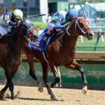 Jackie´s Warrior, horse, Maclean´s Music, Pat Day Mile Stakes, sábado, 1 de mayo de 2021, Churchill Downs. Foto: Coady Photo